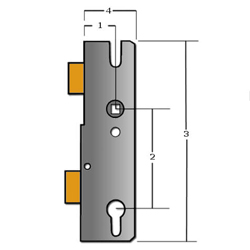 How to Correctly Measure Your UPVC Multipoint Lock
